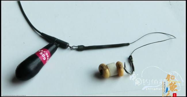 海竿线组绑法图片 海竿爆炸钩线组图解海竿串钩线组