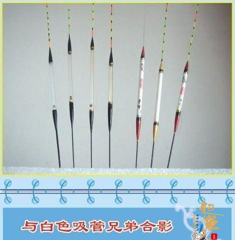简易铅笔棍和塑料管浮漂制作 大量图片说明