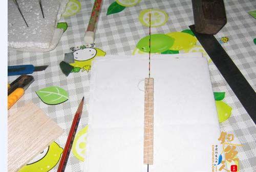 手工制作立式浮漂大概步骤 怎么做漂介绍