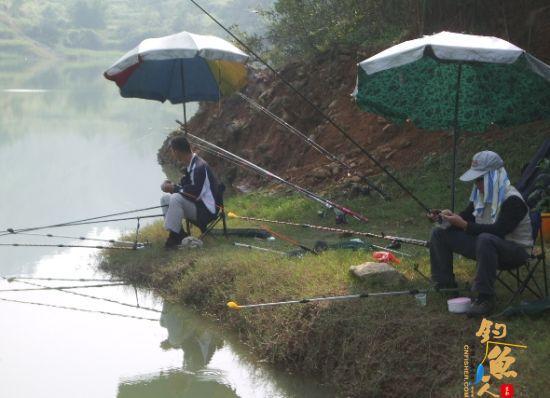 夏季 户外 运动 陕西钓鱼好去处 陕西钓鱼场地 组图