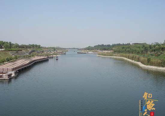 西安周边钓鱼地图 汉城湖
