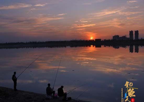 西安周边钓鱼地图 灞河沿岸