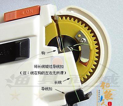电动绑钩器使用方法图解