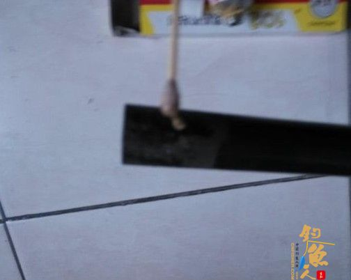 diy渔具玻璃钢鱼竿改装成抄网柄