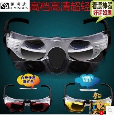 新款视明达2组镜片 可调户外塑料夜视仪太阳城信誉镜片垂钓望远镜