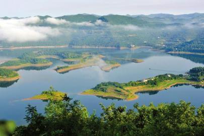 中国升钟湖 世界钓鱼城--我的家乡
