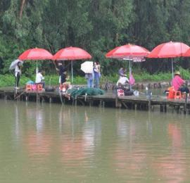 2018年广州市残疾人群众体育活动季—残疾人钓鱼钓虾活动成功举办