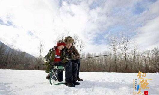 冬季时节钓鱼技巧——上篇