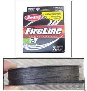 认识路亚鱼线:PE线、火线、碳线、布线等