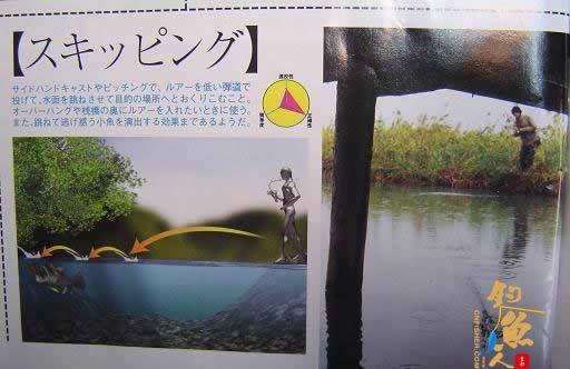 路亚竿抛投详细指南--日本期刊拍照截屏