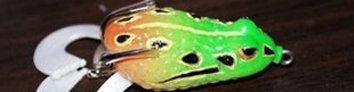 路亚软饵:雷蛙(frog)图文视频详细介绍
