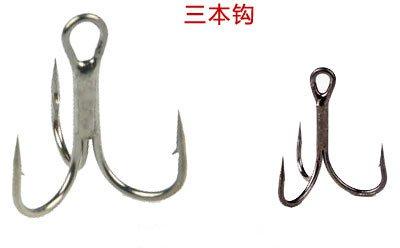 海上船钓路亚之钓具的选择与操作技巧 三本钩