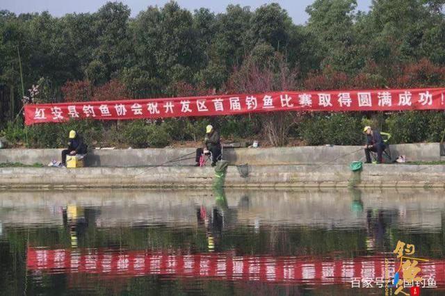 红安经济开发区第一届业余垂钓比赛圆满收竿