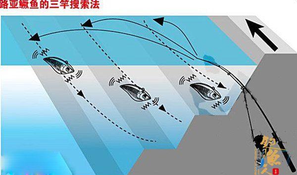 浅析路亚鳜鱼标点选择及操控技法
