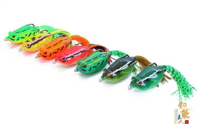 雷蛙的颜色对诱鱼有用么?面对五颜六色的蛙到底怎么选