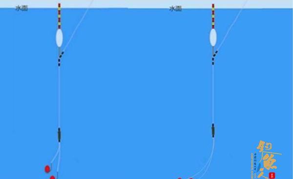 钓鱼调漂的4个实用技巧,让调漂更精确